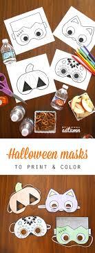 <b>Halloween</b> masks to <b>print</b> and color - It's Always Autumn | <b>Halloween</b> ...