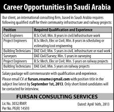 saudi arabia international consulting firm job civil engineer  saudi arabia international consulting firm job civil engineer 30