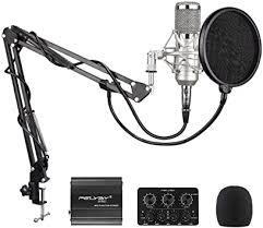 <b>BM</b>-<b>800 Condenser</b> Microphone, FELYBY <b>Professional</b> Recording ...