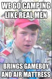 luke the boy scout memes   quickmeme via Relatably.com