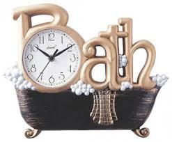 small bathroom clock:  beautiful wall clock for bathroom chic bathroom remodel ideas with wall clock for bathroom