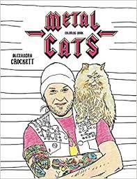 Metal Cats Coloring Book (9781576878453): Crockett ... - Amazon.com