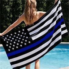 <b>BlueLine USA Police</b> Flags 3 By 5 Foot Thin Blue Line USA Flag ...