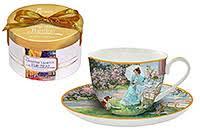 Купить по недорогой цене в Москве чайные <b>чашки с блюдцами</b> ...