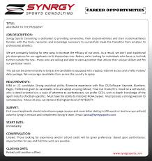a non traditional sab internship posting sports agent blog share on facebook share