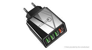 $3.84 (Free Shipping) OLAF <b>QC</b>-<b>04</b> 4-Port USB Travel Wall <b>Charger</b> ...