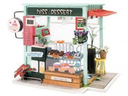 <b>Сборная модель DIY House</b> Магазинчик Сладостей DGM06 9-58 ...