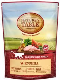 <b>Корм</b> для кошек <b>Nature's Table</b> при чувствительном пищеварении ...