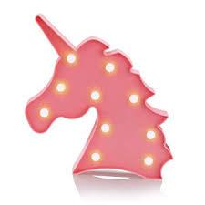 Unicorn Light, Accmor Pink Unicorn Lamp Led Night ... - Amazon.com