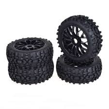 Detail Feedback Questions about <b>4pcs 1/8 Buggy</b> black Rubber tires ...