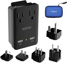 World <b>Travel Adapter</b> Kit, <b>NTONPOWER</b> 2000W <b>Universal</b> Power