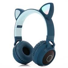 <b>BT</b>-<b>028C</b> Wireless <b>Bluetooth Headset</b> Blue <b>Bluetooth Headphones</b> ...