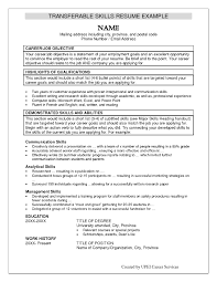 examples of skills for a resume template examples of skills for a resume