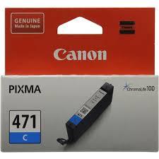 Оригинальный <b>картридж Canon CLI-471C</b> (голубой) Голубой (Cyan)