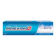 <b>Зубная паста</b> Blend-a-<b>med</b> 3D <b>White</b> Деликатное отбеливание