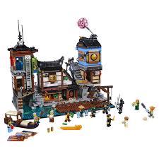 Конструктор <b>LEGO Ninjago Порт</b> Ниндзяго <b>Сити</b> 70657 LEGO ...