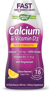 <b>Calcium</b> & <b>Vitamin D3</b> - Nature's Way®.