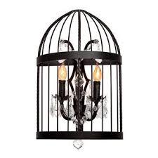 Vintage birdcage <b>LOFT1891W</b>, <b>Бра</b>, Хрустальные светильники ...