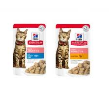 <b>Hill's Science Plan</b> Adult Light Wet <b>Cat</b> Food 12x85g Pouches