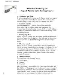 One Page Executive Summary Template  sample business plan template
