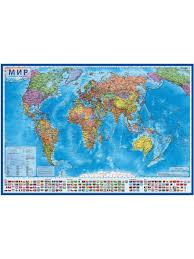 Интерактивная <b>политическая карта Мира</b>, масштаб 1:36М, в ...