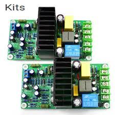 <b>KITS L15D PRO Kit IRS2092S</b> 2 Channel Class D Power Amplifier w ...