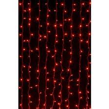 Электрическая гирлянда <b>светодиодный занавес</b> (<b>красный</b>, 2х3м ...
