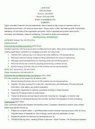 strong resume objective example objectives s customer good gallery of example of a strong resume