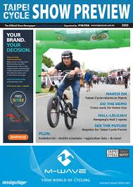 TAIPEI CYCLE 2019 Show Preview by TCS News - issuu