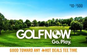 Golf Now gift card