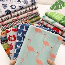 <b>buulqo</b> Prints Cactus Cotton and <b>Linen Fabric</b> By <b>Meter</b> for DIY ...