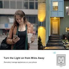 <b>SONOFF S55</b> WiFi Smart Socket Compatible with Alexa & Google ...