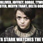 Arya Stark Meme Generator - Imgflip via Relatably.com