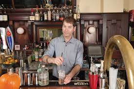 bottle cap brings new life to old washington square bar grill gold stand bys bar manager pete gowdy says he enjoys mixing up seasonal cocktails