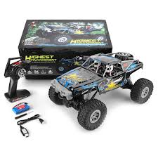 WLtoys <b>104310 1 / 10 Electric 4WD</b> Double Bridge Climbing Car ...