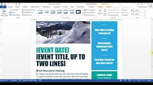 microsoft word create flyer microsoft word create flyer