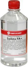 <b>SOLINS</b> FA+ , 0.5л (концентрат), <b>Жидкость отмывочная</b> ( для ...