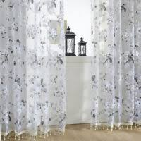 NEW <b>Pure Color Transparency</b> Gauze Door Window Curtain For ...