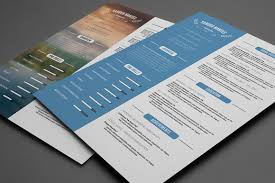 resume templates that look great in creative market blog clean resume template psd