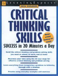 Critical thinking tools for taking charge of your learning pdf Dailymotion