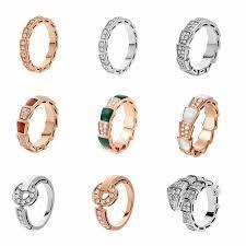 <b>JEM</b> original 100%tiff <b>925 sterling silver</b> ring fashion jewelry double ...