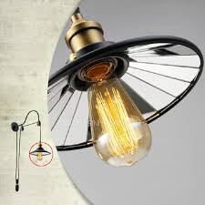 cheap industrial lighting pulley shaped adjustable wall sconce cheap sconce lighting