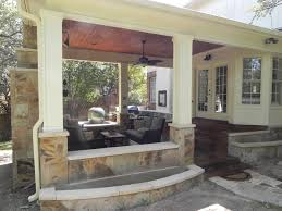 covered patio freedom properties: austin covered patio with outdoor fireplace