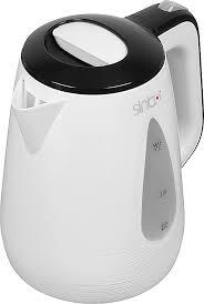 Купить электрический <b>чайник Sinbo SK</b> 7364, Пластик, белый в ...