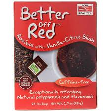 <b>Better Off</b> Red Rooibos <b>Tea</b>, NOW Foods