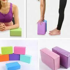 Yoga Block Pilates EVA Brick Foam Stretch <b>Fitness Exercise</b> Sport ...