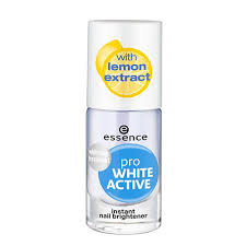 <b>Лак</b> для ногтей `<b>ESSENCE</b>` PRO WHITE ACTIVE <b>отбеливающий</b> ...