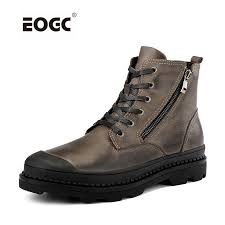 <b>Vintage Style Men</b> Boots Natural Leather Autumn And Winter Shoes ...