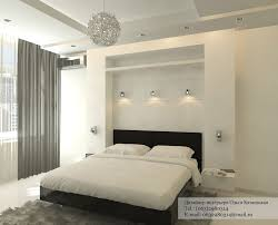 this bedroom sees a headboard wall that by shape and scale could dominate the space black white bedroom interior
