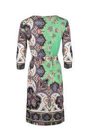 <b>Платье прямого силуэта</b> с поясом ETRO
